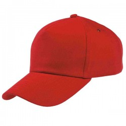 Бейсболки красные
