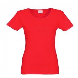 Футболки женские красные