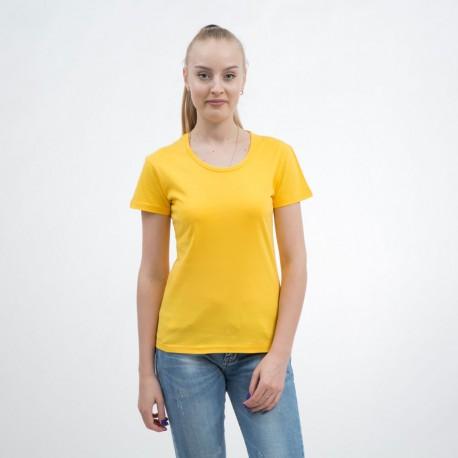 Футболки женские желтые