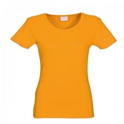 Футболки женские оранжевые
